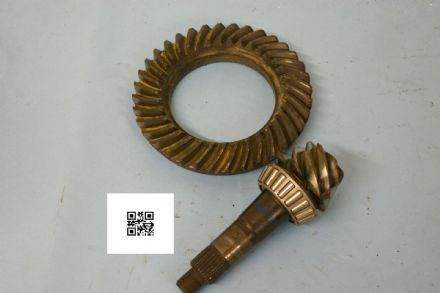 1965-1979 GM Ring & Pinion 3965088 3965087, 5:14:1 Drag Ratio, 7.36, Used Fair